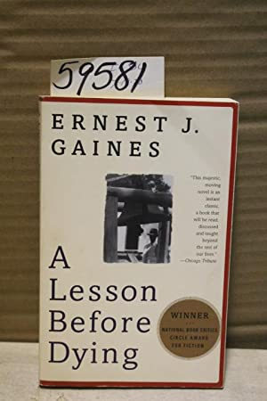 ernest j gaines lesson before dying essays A lesson before dying is ernest j gaines' eighth novel, published in 1993  while it is a  article/essay on women and community in a lesson before  dying.