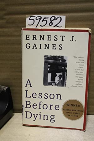 a lesson before dying book vs A lesson before dying is ernest j gaines' eighth novel, published in 1993  while it is a fictional work, it is loosely based on the true story of willie francis,.