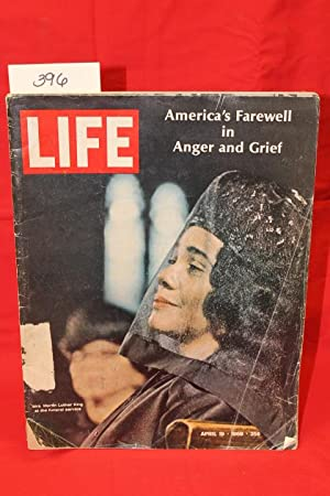 Life Magazine April 19, 1968: King, Mrs. Martin Luther King