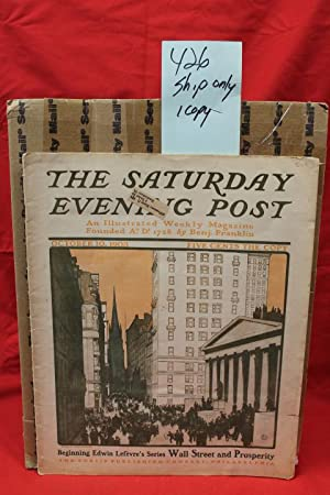 Saturday Evening Post October 10, 1903 an Illustrated Weekly Magazine: Franklin, Benj