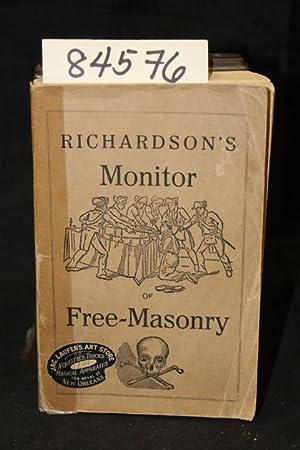 Richardson;'s Monitor of FreeMasonry: Richardson, Jabez