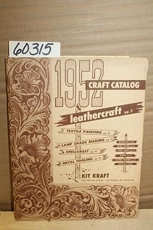 Kit Kraft; 1952 Craft Catalogue: Kit Kraft