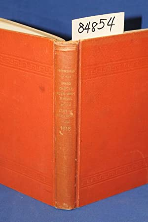 Proceedings of the Grand Royal Arch Chapter of the State of New Jersey 1916: Melvin, Frederick
