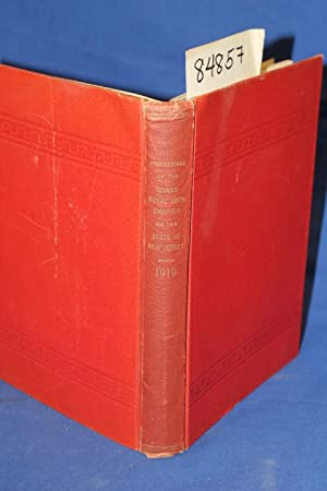 Proceedings of the Grand Royal Arch Chapter of the State of New Jersey 1919: Mackinnon, Andrew N.