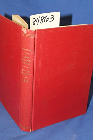 Proceedings of the Grand Royal Arch Chapter of the State of New Jersey 1928: McCracken, Chas D.