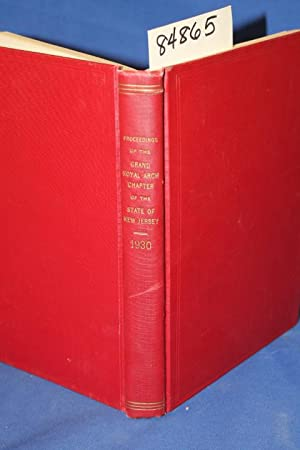 Proceedings of the Grand Royal Arch Chapter of the State of New Jersey 1930: Armstrong, Mathew