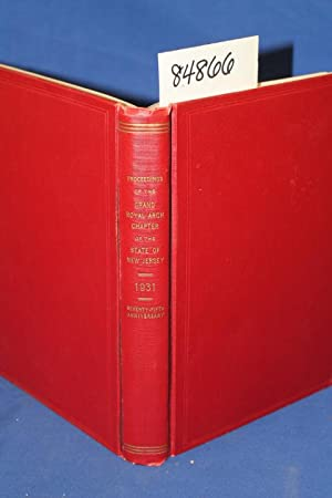 Proceedings of the Grand Royal Arch Chapter of the State of New Jersey 1931: McCormick, Robert