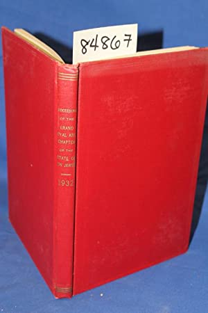 Proceedings of the Grand Royal Arch Chapter of the State of New Jersey 1932: Kite, W.