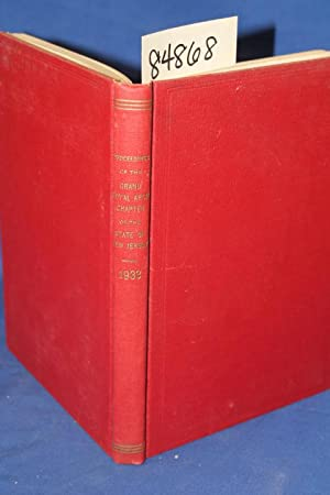 Proceedings of the Grand Royal Arch Chapter of the State of New Jersey 1933: Rinehart, R.
