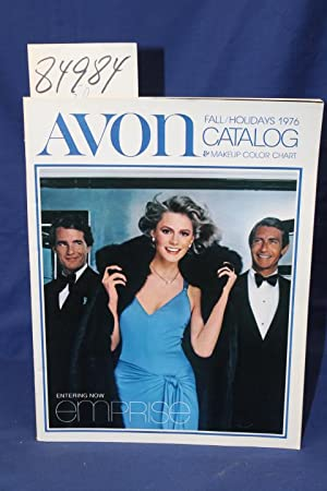 Avon Fall Holidays 1976 Catalog & Makeup Color Chart: Avon