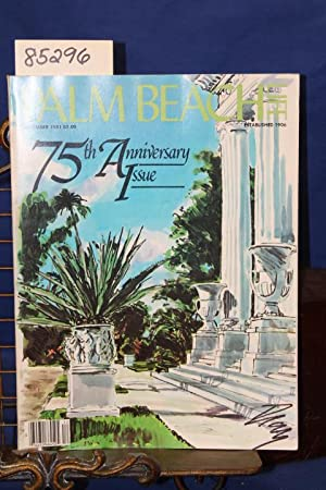 Palm Beach Life December 1981 Magazine 75th Anniversary Issue: Palm Beach Life