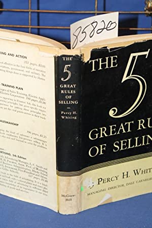 Five Great Rules of Selling: Whiting, Percy H