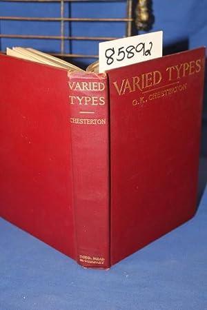 Varied Types: Chesterton, Gilbert K.