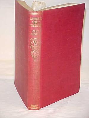 Northanger Abbey & Persuasion 1938: Austen, Jane
