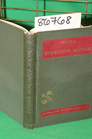 N.F.P.A. Inspection Manual A Pocket book Covering Inspection work done for Fire Protection and ...