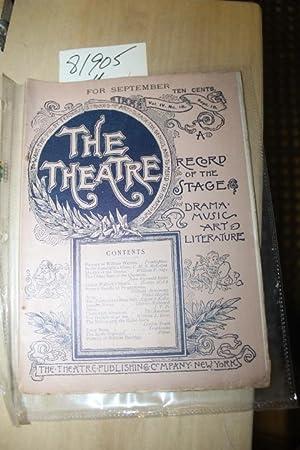 TheTheatre Vol IV no. 20 Nov 5 A Record of the Stage: Theatre Piublishing Co