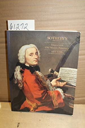 Important Old Master Paintings Sale 6654: Sotheby's