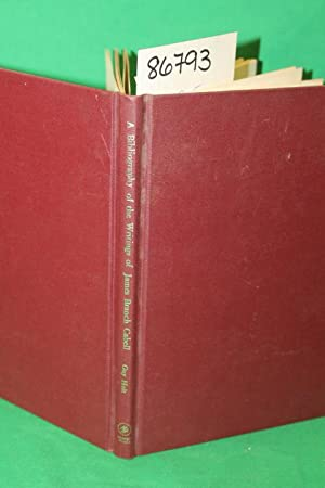 A Bibliography of the Writings of James Branch Cabell: Holt, Guy