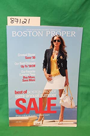 Boston Proper Semi Annual Summer Sale 2007: Boston Proper