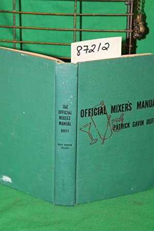 The Official Mixer's Manual: Duffy, Patrick Gavin