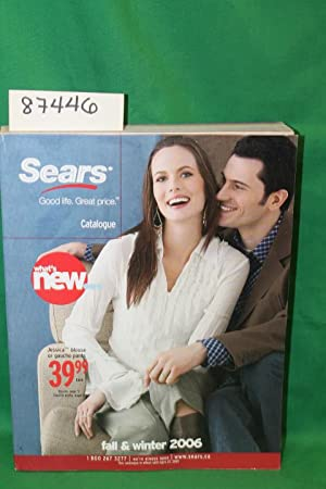 Sears Fall and Winter 2006 Canada Catalog: Sears Roebuck