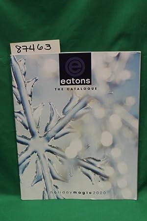 Eatons Holiday Magic 2000 Catalog: Eatons