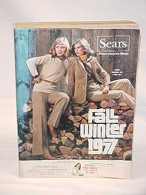 Sears Catalog Fall/Winter 1977: Sears Roebuck