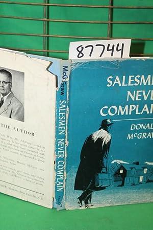 Salesman Never Complain: McGraw, Donald