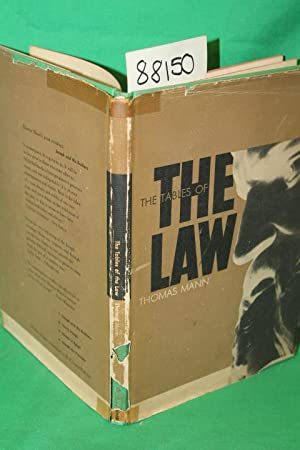 The Tables of the Law: Mann, Thomas