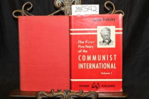 The First Five Years of the Communist International (Married Set): Trotsky, Leon