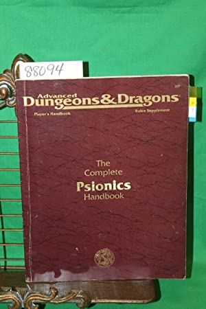 Advanced Dungeons & Dragons: The Complete Psionics: Hayday, Andria