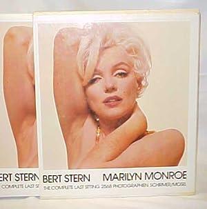 Marilyn Monroe: The Complete Last Sitting: Stern, Bert