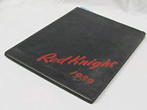 The Red Knight 1959 Yearbook: Morristown College, MorrisTown, Tennesee