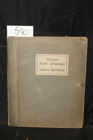Nineteen Early Drawings: Beardsley, Aubrey, Harold Hartley, Georges Derry
