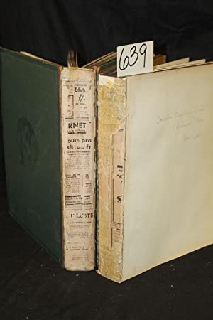 L'Art Des Origines A Nos Jours Tome Premier & Tome Second Signed by Hilda Beecher Stowe (...