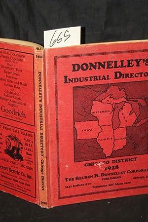 Donnelley's Industrial directory Chicago district 1928: Donnelley, Reuben H.