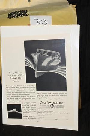 Gar Wood Ad, Runabout: Gar Wood
