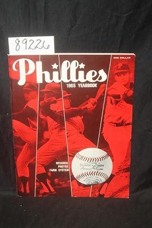 1965 Phillies Yearbook BASEBALL: Phillies Program BASEBALL