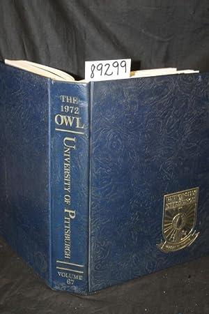 The 1972 Owl, University of Pittsburgh, volume 67 yearbook: Salva, Paul F. (editor) University of ...