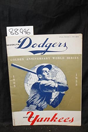Brooklyn Dodgers, New York Yankees, Golden Anniversary World Series 1903, 1953: Brooklyn Dodgers, ...