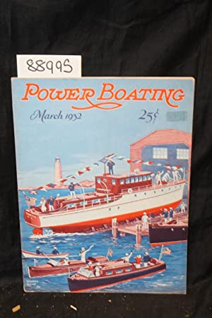 Power Boating - March, 1932: Power Boating - March, 1932