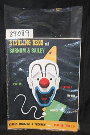 1948 Ringling Bros. and Barnum & Bailey Circus Magazine & Program: Dube, Harry S.