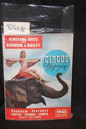 1945 Ringling Bros. and Barnum & Bailey Circus Magazine & Program: Dube, Harry S.