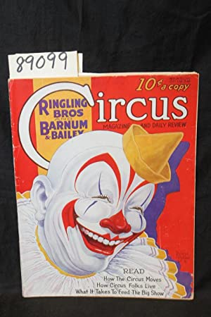 1936 Ringling Bros. and Barnum & Bailey Circus GOOD+: Ringling Bros
