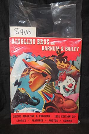 1951 Ringling Bros. and Barnum & Bailey Circus Magazine & Program: Dube, Harry S.