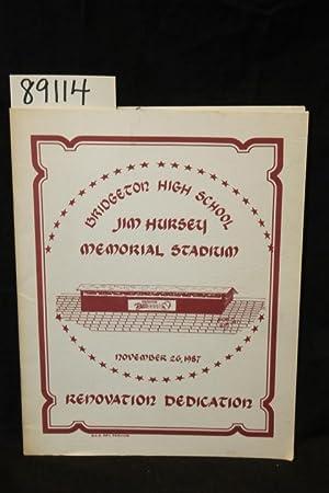 Bridgeton High School Jim Hursey Memorial Stadium Renovation Dedication: Chestnut, William