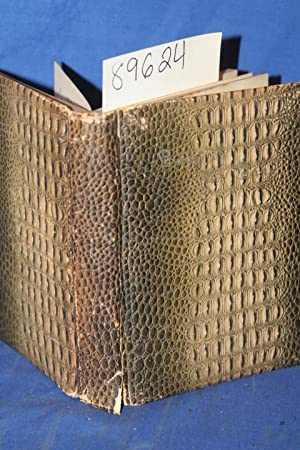 The Lady of the Lake (Wonderful Alligator Type Leather Cover): Scott, Sir Walter