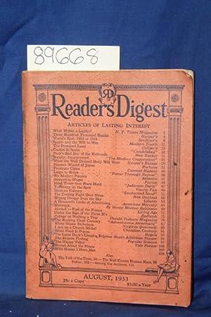 Reader's Digest, Maverick by Henry Morton Robinson,: Reader's Digest