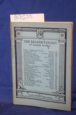 Reader's Digest Articles of Lasting Interest: Reader's Digest