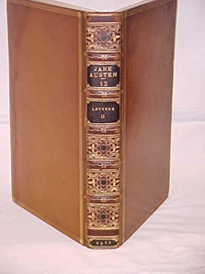 Letters of Jane Austen Vol. II Only, 1912, Leather,: Austen, Jane